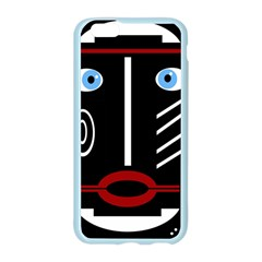 Decorative mask Apple Seamless iPhone 6/6S Case (Color) by Valentinaart
