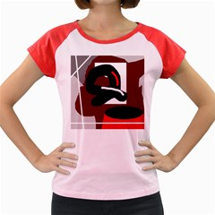 Crazy Abstraction Women s Cap Sleeve T Shirt by Valentinaart