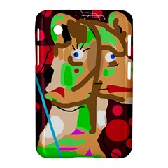 Abstract Animal Samsung Galaxy Tab 2 (7 ) P3100 Hardshell Case  by Valentinaart