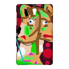 Abstract animal Samsung Galaxy Tab S (8.4 ) Hardshell Case  by Valentinaart