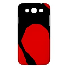 Black Raven Samsung Galaxy Mega 5 8 I9152 Hardshell Case  by Valentinaart