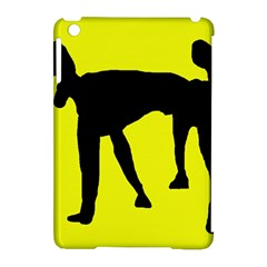 Black Dog Apple Ipad Mini Hardshell Case (compatible With Smart Cover) by Valentinaart