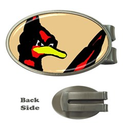 Angry Bird Money Clips (oval)  by Valentinaart