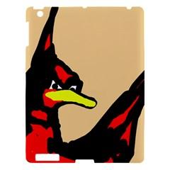 Angry Bird Apple Ipad 3/4 Hardshell Case by Valentinaart