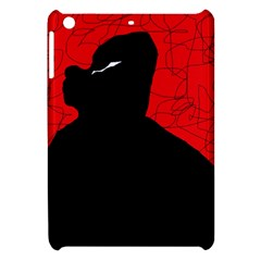 Red And Black Abstract Design Apple Ipad Mini Hardshell Case by Valentinaart