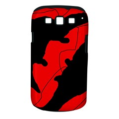 Black And Red Lizard  Samsung Galaxy S Iii Classic Hardshell Case (pc+silicone) by Valentinaart