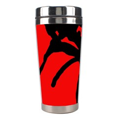 Abstract Man Stainless Steel Travel Tumblers by Valentinaart