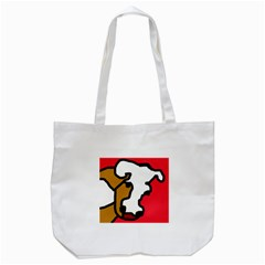 Artistic Cow Tote Bag (white) by Valentinaart