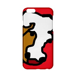 Artistic Cow Apple Iphone 6/6s Hardshell Case by Valentinaart