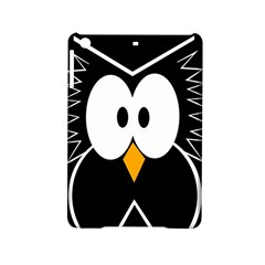 Black Owl Ipad Mini 2 Hardshell Cases by Valentinaart