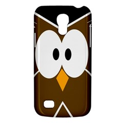 Brown Simple Owl Galaxy S4 Mini by Valentinaart