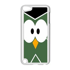 Green Owl Apple Ipod Touch 5 Case (white)