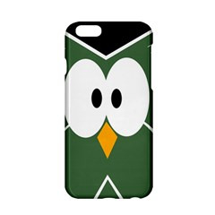 Green Owl Apple Iphone 6/6s Hardshell Case by Valentinaart