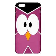Pink Owl Iphone 6 Plus/6s Plus Tpu Case by Valentinaart