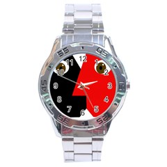 Kiss Stainless Steel Analogue Watch by Valentinaart