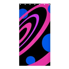 Pink And Blue Twist Shower Curtain 36  X 72  (stall)  by Valentinaart