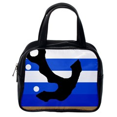 Anchor Classic Handbags (one Side) by Valentinaart