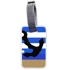 Anchor Luggage Tags (two Sides) by Valentinaart