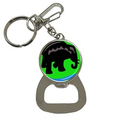 Elephand Bottle Opener Key Chains by Valentinaart