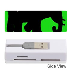 Elephand Memory Card Reader (stick)  by Valentinaart