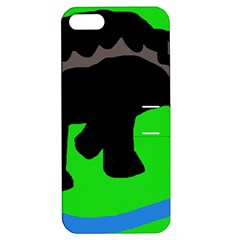 Elephand Apple Iphone 5 Hardshell Case With Stand by Valentinaart
