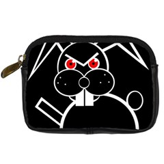 Evil Rabbit Digital Camera Cases by Valentinaart