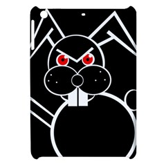 Evil rabbit Apple iPad Mini Hardshell Case by Valentinaart