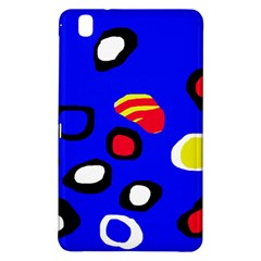 Blue Pattern Abstraction Samsung Galaxy Tab Pro 8 4 Hardshell Case by Valentinaart