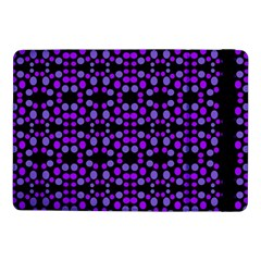 Dots Pattern Purple Samsung Galaxy Tab Pro 10 1  Flip Case by BrightVibesDesign