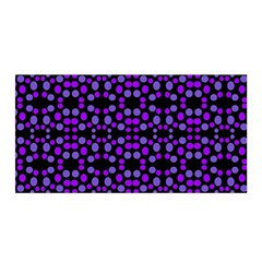 Dots Pattern Purple Satin Wrap by BrightVibesDesign
