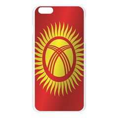Flag Of Kyrgyzstan Apple Seamless iPhone 6 Plus/6S Plus Case (Transparent) by artpics