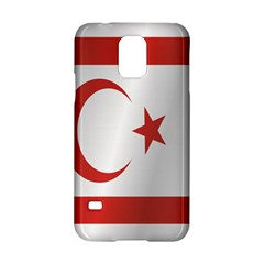 Flag Of Northern Cyprus Samsung Galaxy S5 Hardshell Case  by artpics