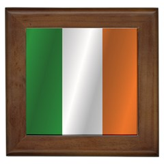 Flag Of Ireland Framed Tiles by artpics