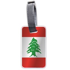 Flag Of Lebanon Luggage Tags (Two Sides) by artpics