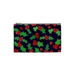 Holly Jolly Christmas Cosmetic Bag (Small)  Front