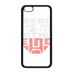Freedom Is The Right Grunge Apple Iphone 5c Seamless Case (black) by justinwhitdesigns