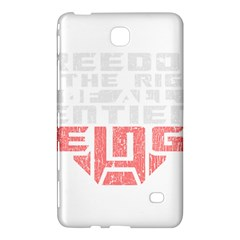 Freedom Is The Right Grunge Samsung Galaxy Tab 4 (7 ) Hardshell Case  by justinwhitdesigns