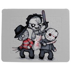 Horror Trifecta Plushie  Jigsaw Puzzle Photo Stand (Rectangular) by lvbart