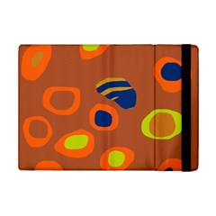 Orange Abstraction Ipad Mini 2 Flip Cases by Valentinaart