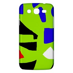 Green Abstraction Samsung Galaxy Mega 5 8 I9152 Hardshell Case  by Valentinaart