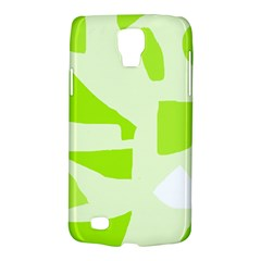 Green Abstract Design Galaxy S4 Active by Valentinaart