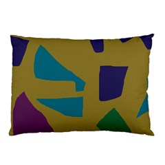 Colorful Abstraction Pillow Case by Valentinaart
