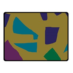Colorful Abstraction Fleece Blanket (small) by Valentinaart