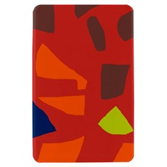 Red abstraction Kindle Fire (1st Gen) Hardshell Case