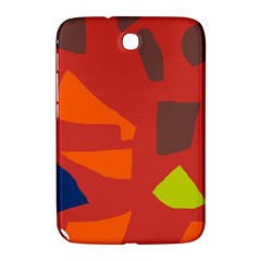 Red Abstraction Samsung Galaxy Note 8 0 N5100 Hardshell Case  by Valentinaart