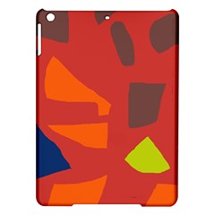 Red Abstraction Ipad Air Hardshell Cases by Valentinaart