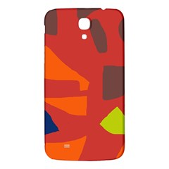 Red Abstraction Samsung Galaxy Mega I9200 Hardshell Back Case by Valentinaart