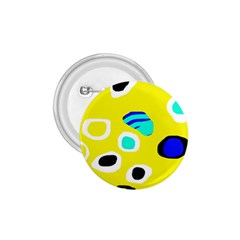 Yellow Abstract Pattern 1 75  Buttons by Valentinaart