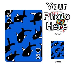 Cute Fishes Playing Cards 54 Designs