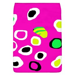 Pink Abstract Pattern Flap Covers (l)  by Valentinaart